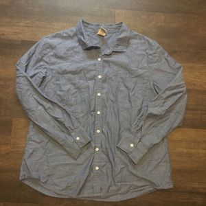 [Faded Glory] Blue Button Down